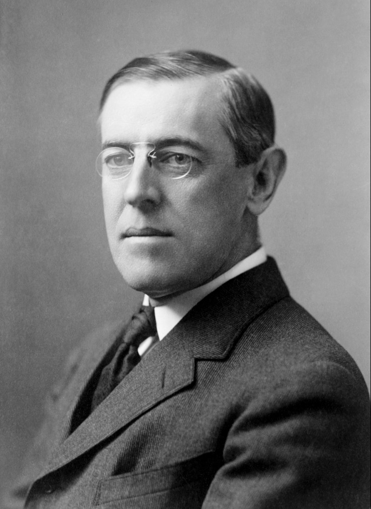 WOODROW WILSON (1856-1924). 28th President of the United States. Photographed c1908.